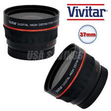 VIVITAR 0.43x WIDE ANGLE LENS FOR CANON VIXIA HF10 HF11 HF20 HF21 HF100 HF200
