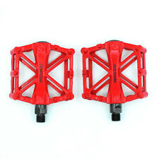 "Pedales de Aluminio para Bicicleta Montaña MTB BTT BMX Bici Plataforma 9/16"""
