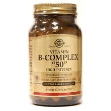 """Solgar Vitamin B-Complex """"50"""" 100 Vegetable Capsules"""
