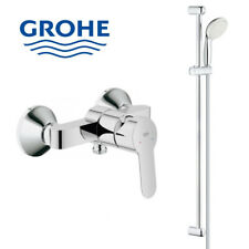 Grohe Mitigeur et barre de douche avec flexible et douchette