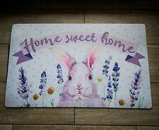 FußmatteTürmatte Matte Fußabtreter Home sweet Home Shabby Vintage