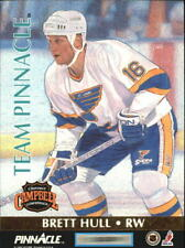 1992-93 (BLUES) (PENGUINS) Pinnacle Team Pinnacle #6 Jaromir Jagr/Brett Hull