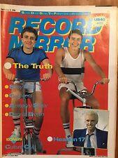 Record Mirror Sep 3 1983 The Truth Stray Cats Heaven 17 APB Howard Jones