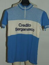 Shirt Bike Shirt Maillot Cycling Heroic Vintage 70'S Bergamasco 50% Wool