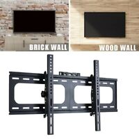 "UNHO TV Wall Bracket Fixed Tilting For Large 32-75"" Inch LG Samsung Flat Screen"