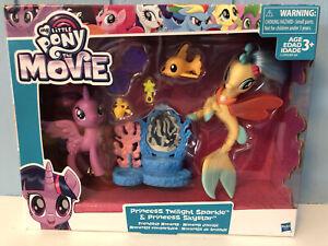 My Little Pony Movie Princess Skystar Sea Pony & Twilight Sparkle ~ NEW in box!
