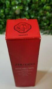 Shiseido Synchro Skin Lasting Liquid SPF 20 Foundation 30ml/1oz, Neutral 4 - NEW