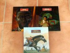 lot 3 livres illustrées Tukat, Tokala, Izabal - albums  éditions Milan jeunesse