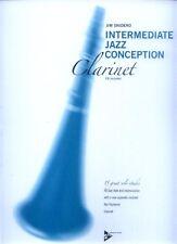 Jim Snidero Intermediate Jazz Conception Klarinette Clarinet Noten Play-Along CD