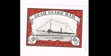 Guam Guard Mail USS YOSEMITE Stamp Mint
