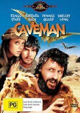 Caveman - DENNIS QUAID (DVD, 2005) REGION-4-LIKE NEW-FREE POST WITHIN AUSTRALIA