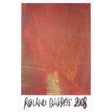 Tennis Kunstdruck - Roland Garros, 2008 von Arnulf Rainer Original Poster