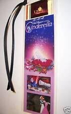 CINDERELLA Disney Classic Movie Film Cell Bookmark Rare