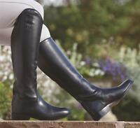 Shires Norfolk Long Leather Zip Up Horse Riding Boots  * Reduced Clearance Sale*