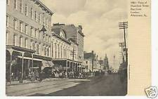 VIEW OF HAMILTON STREET EAST FROM LUMBER, ALLENTOWN, PA