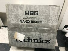 Technics SA-DX1050 EX-DISPLAY DTS HOME-CINEMA RECEIVER NO REMOTE
