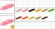 "10 leurres souples larve insecte teigne Pupa 1,2"" FISHUP 32mm pêche truite chub"