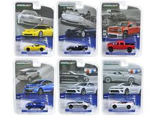 GENERAL MOTORS COLLECTION SERIES 2, 6pc SET 1/64 DIECAST MODELS GREENLIGHT 27875