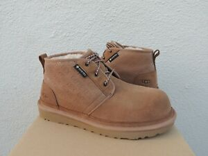 UGG CHESTNUT NEUMEL GORE-TEX WATERPROOF SUEDE ANKLE BOOTS, US 10/ EUR 43 ~NEW