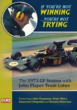 If You're Not Winning (New DVD) 1973 Formula 1 Season Lotus JPS Fittipaldi