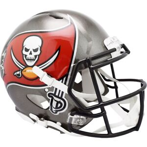 NFL Tampa Bay Buccaneers Calcio Autentico Full-Size Velocità Casco Footballhelm