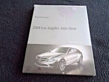 2008 Mercedes Press Kit CD Brochure SL550 GL550 S600 CLS63 SL63 AMG E350 SLK280