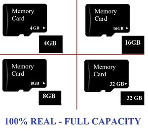 Full Capacity Micro SD 4/8/16/32 GB SDHC Memory Card Mobile Phone Tablet Camera