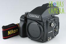 Contax 645 Medium Format SLR Film Camera + MF-1 + MFB-1 #9542D5