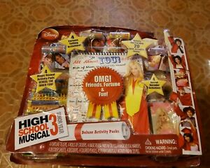 New In Original Package High School Musical 3 Senior Year Deluxe Activity Pack