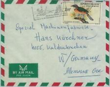 81092 - MADAGASCAR - POSTAL HISTORY - ADVERTISING COVER 1968  Fire matches BIRDS