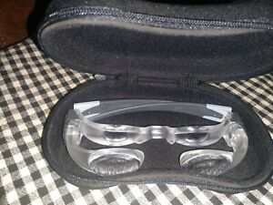 ESCHENBACH Magnification Glasses 2.1x Max TV Magnifier Germany With Case