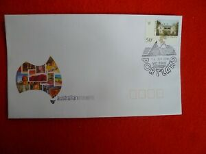 2004 PORTLAND VIC WHALE  FIRST DAY OF POSTMARK  ON AUST STAMP SOUVENIR COVER