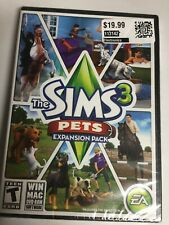 Sims 3 Expansion Pack PETS (PC,Windows/MAC) Brand New Factory Sealed! USA!