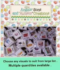 Choisissez votre propre visuel cartes pour costume ~ autisme/non verbale/Communication/pecs