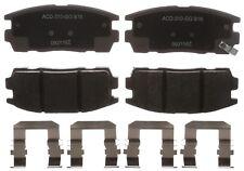 Disc Brake Pad Set-Ceramic Disc Brake Pad Rear ACDelco Advantage 14D1275CHF1