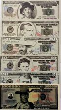 UNITED STATES $1 MILLION Dollars WILD WESTERN SERIES FANTASY BANKNOTES