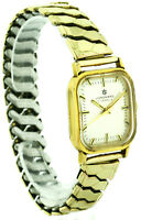Junghans vergoldete Vintage Herren Armbanduhr Ref. D72 Kal. 620.50