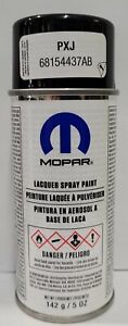 Mopar 5oz Spray Paint (PXJ) Diamond Black Crystal P/C 68154437AB
