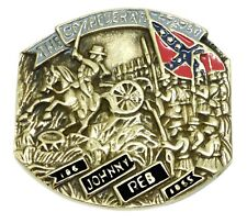 American Civil War Belt Buckle Flag Military USA Solid Brass Baron Buckles