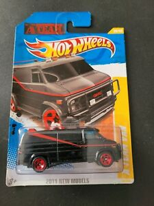 🔥 HOT WHEELS A TEAM VAN 2011 NEW MODELS NICE 🔥