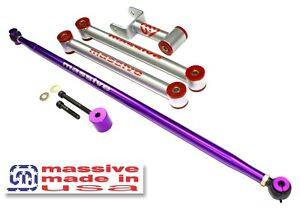 MSS Rear Kit Lower + Upper Control Arms + Adjustable Panhard 05+ Mustang S197