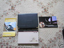 2004 04 LEXUS ES330 OWNERS MANUAL w/CASE