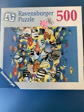 RAVENSBURGER 500-piece jigsaw puzzle--RUSH HOUR