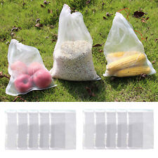 10X Filter Media Bags 25 x 10cm Reusable Aquarium Fish Tank Pond Net Mesh Bag