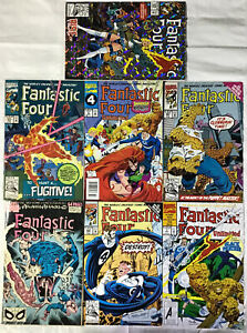 Lot of 7 Marvel Comics - FANTASTIC FOUR - Good Condition!