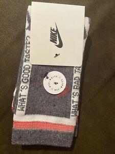 Nike Off-white Socks Ready To Ship size L men 8-12