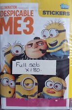 DESPICABLE ME 3 STICKERS FULL SET X180