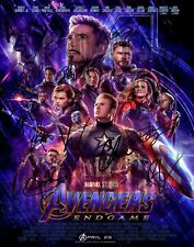 Avengers Endgame 11x14 CAST SIGNED REPRINT Poster Marvel Comics #1