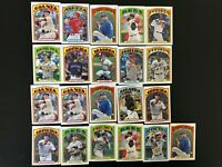 2013 Topps '72 Minis Lot (21) Tim Lincecum Giants + Only Stars!