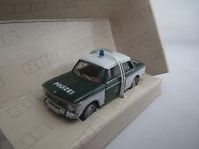 """BUB  08401  BMW  2002  """"Polizei""""  (grün/weiß)  1:87  OVP !!"""